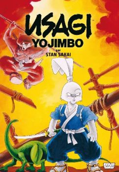 """Usagi Yojimbo Fantagraphics Collection #2"" (Stan Sakai, Planeta Cómic)"