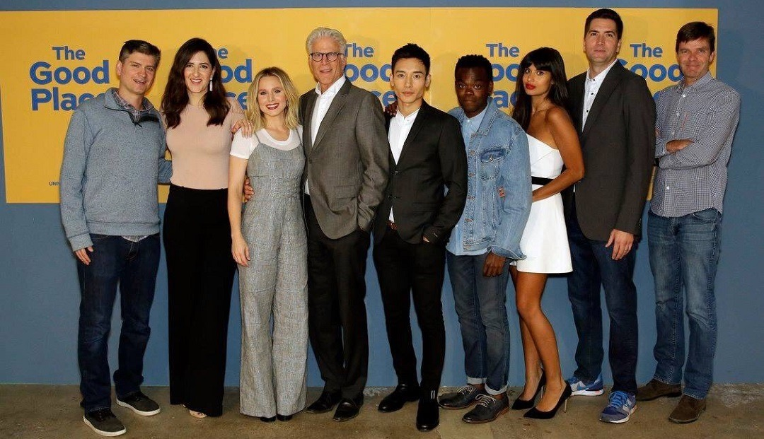 The Good Place cast El Lado bueno