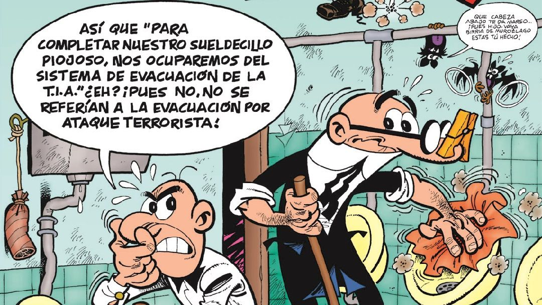 «Super Humor: Mortadelo y Filemón 62» (Francisco Ibáñez, Ediciones B)