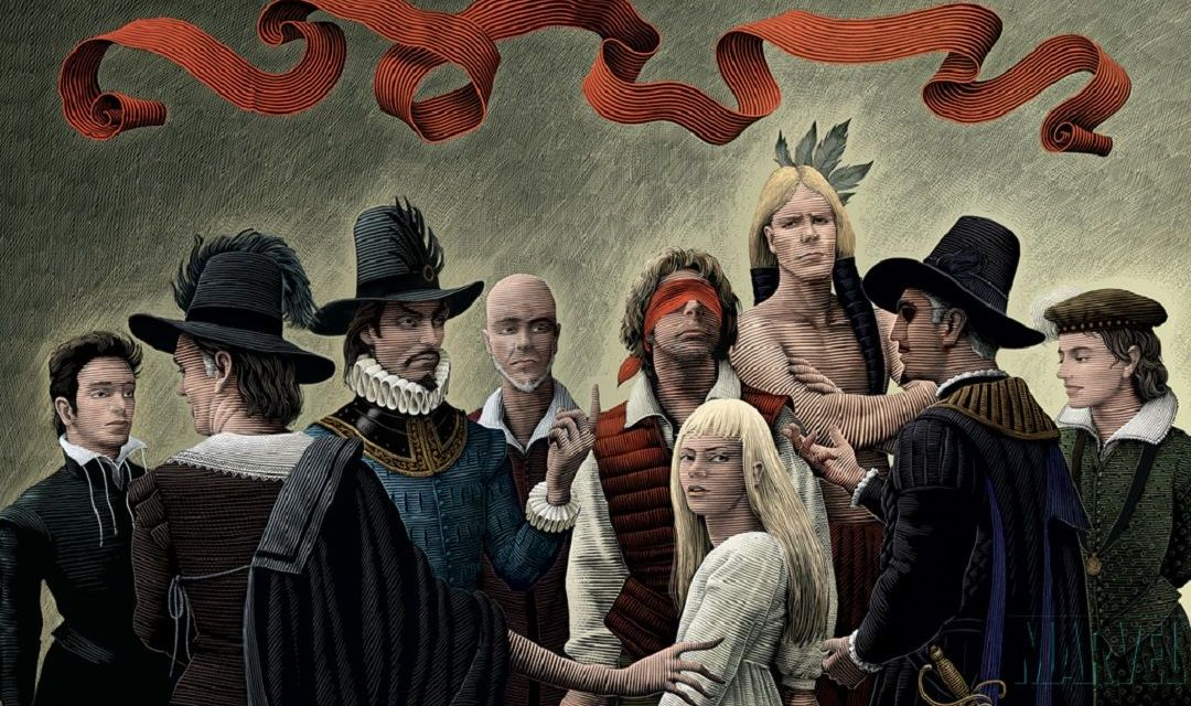 «Marvel 1602» (Neil Gaiman y Andy Kubert, 2003)