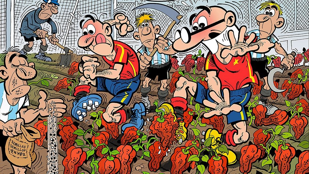 «Mortadelo y Filemón. Mundial 2018» (Francisco Ibáñez, Ediciones B)
