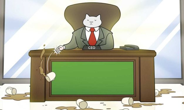 «Business Cat: Dinero, poder, galletitas» (Tom Fonder, Fandogamia Editorial)