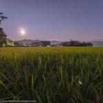 9/8(金)21:00撮影★秋の南阿蘇に月昇る