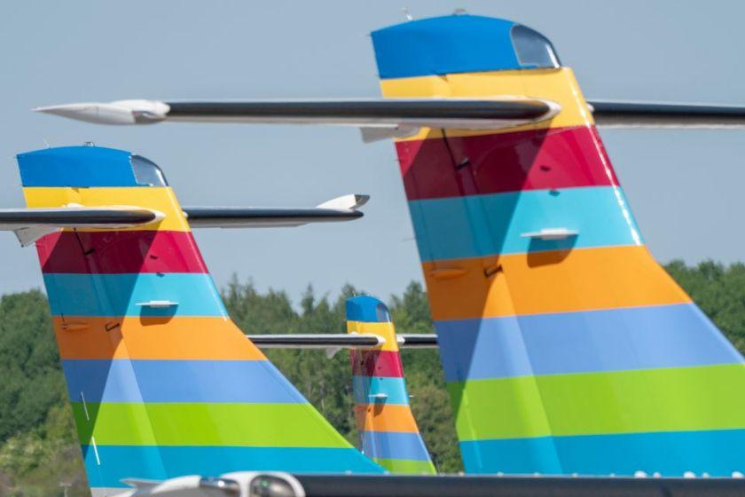 Flygplansparkeringen