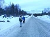 petite marche sur l'autoroute / a little walk on the highway