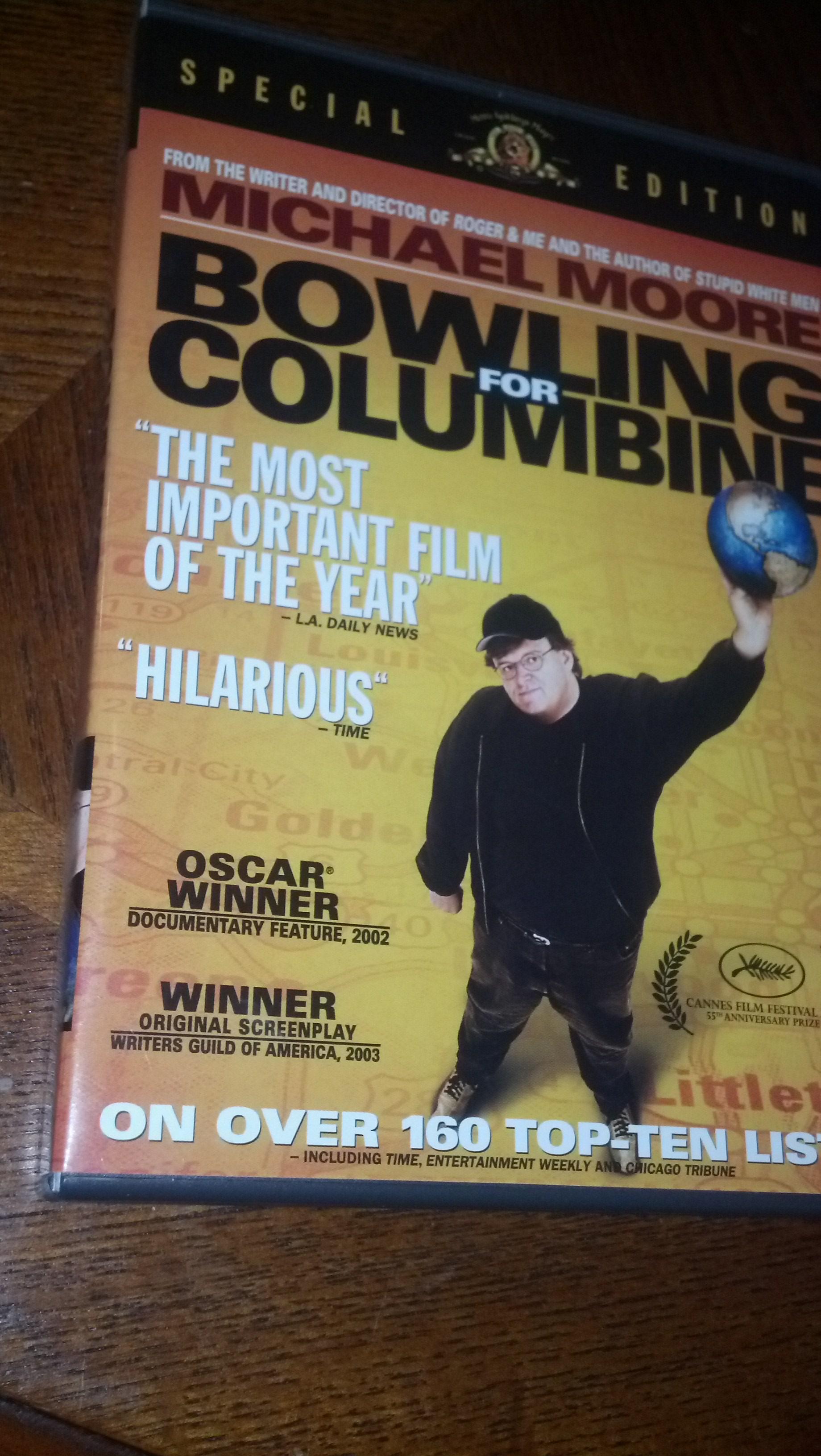 My Movie Shelf Bowling For Columbine