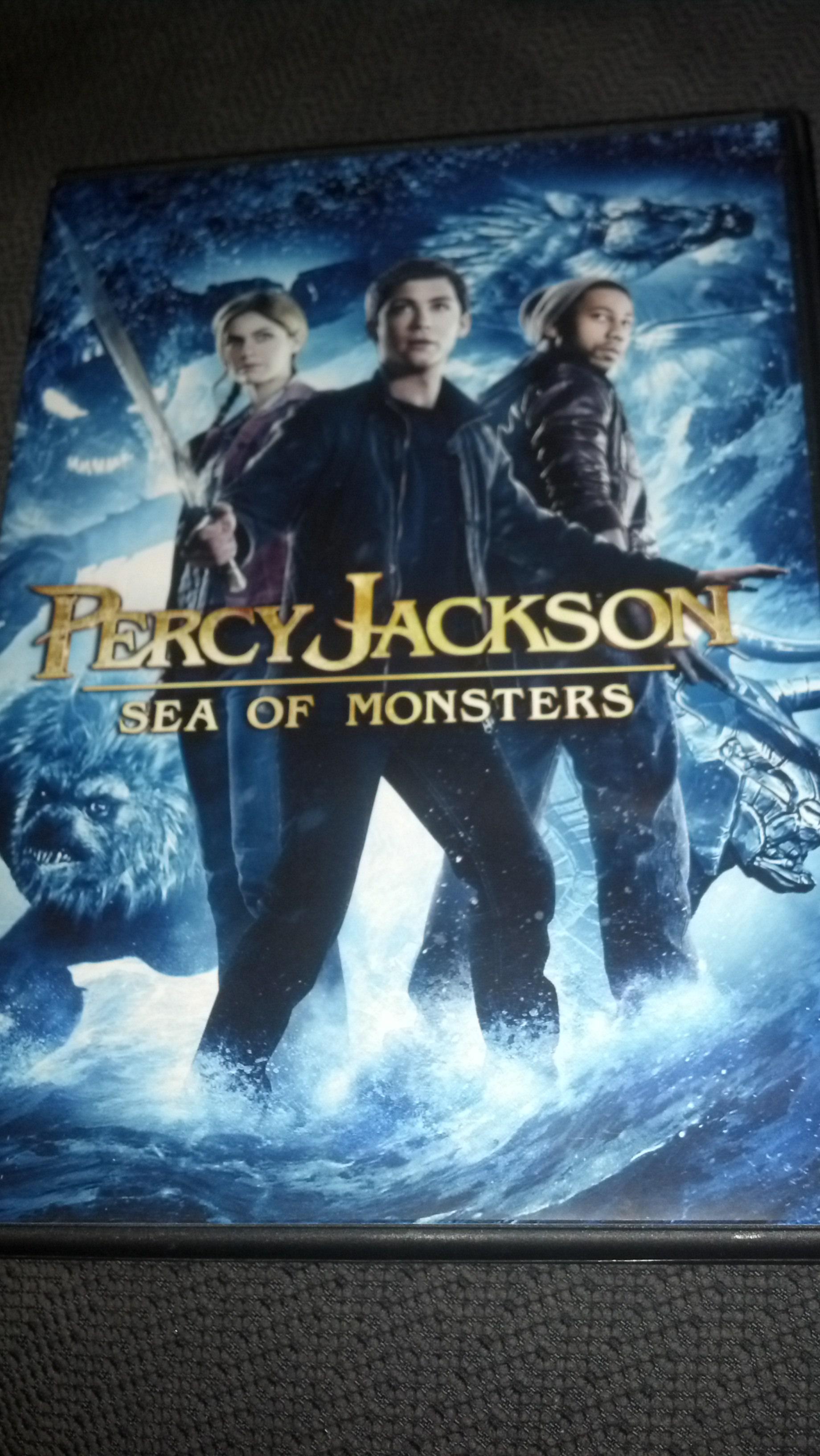 My Movie Shelf Percy Jackson Sea Of Monsters