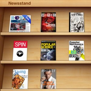 apple-iphone-newstand-skeumorphism
