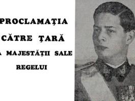 proclamatia regelui 23 august 1944 Universul August 1944