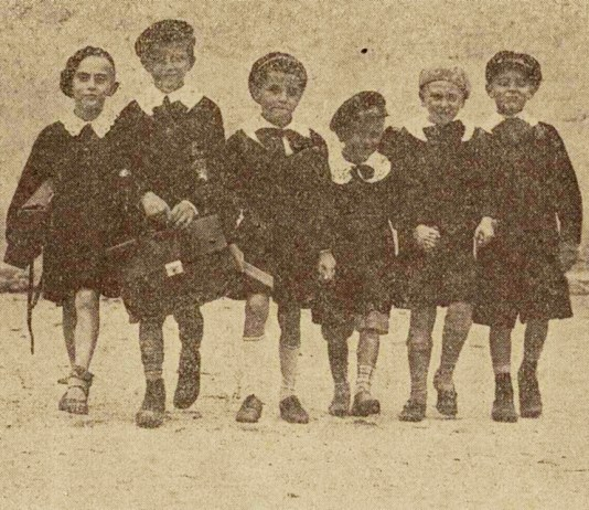 prima zi de scoala in 1931 - Ilustratiunea Romana (2)