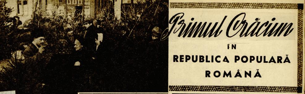 """""""Realitatea ilustrată""""; 26 decembrie 1948."""