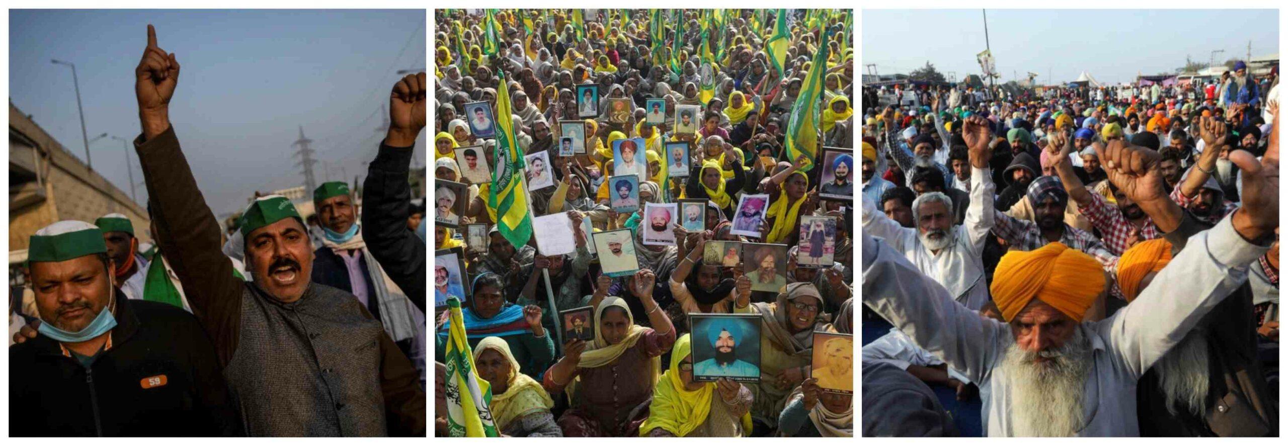 بھارتی کسانوں کے احتجاج کو عالمی سطح پر حمایت حاصل ہو رہی ہے، رپورٹ