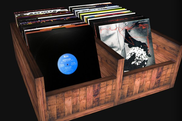 dig through a virtual crate of hip hop