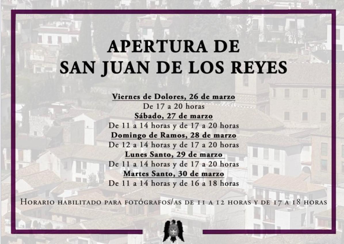 Cartel Apertura San Juan de los Reyes(1)