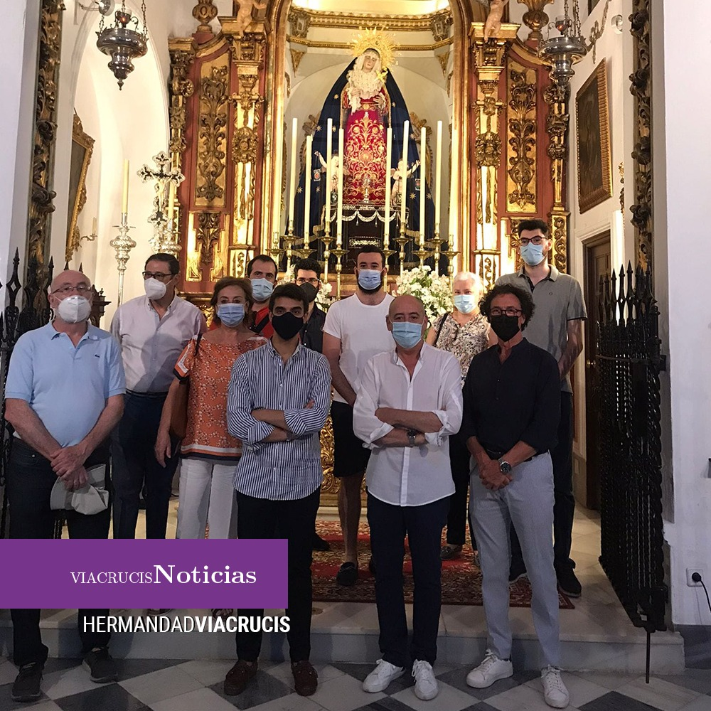 Medalla para Nuestra Señora de los Dolores de San Juan de Málaga
