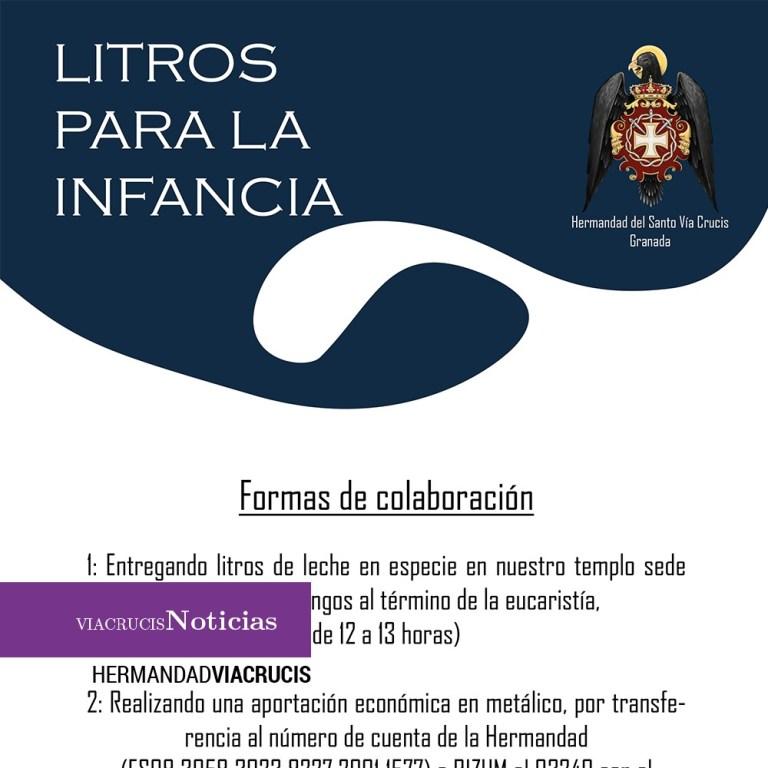 'Litros para la infancia', campaña a beneficio del alumnado de la Escuela Hogar Madre Teresa de La Presentación