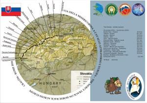 Mappa tratta Slovacca