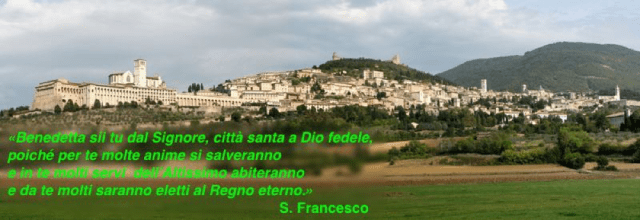 Assisi antico santuario di San Francesco