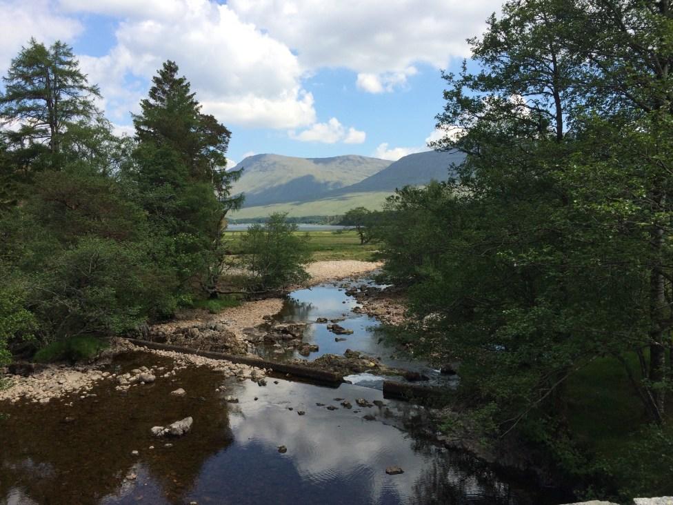 From Victoria Bridge, Inveroran, West Highland Way