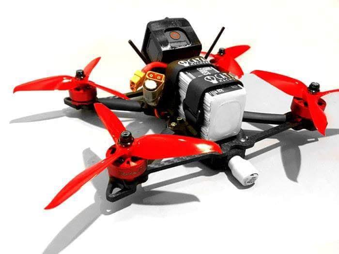 Acrobatic Carbon Fiber Drone