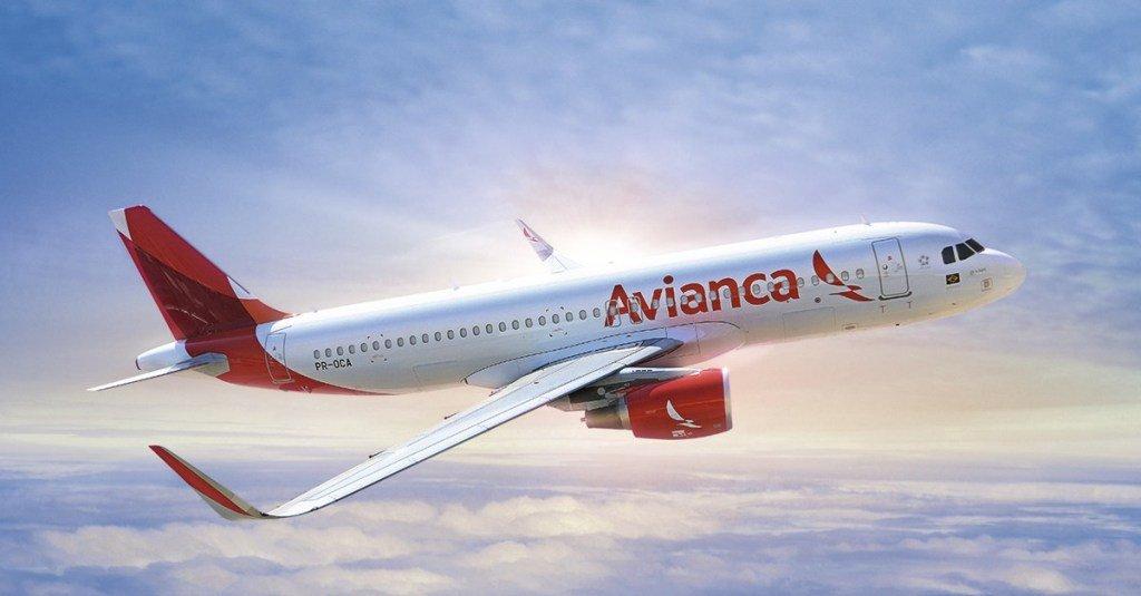 Nota da Avianca sobre voos internacionais