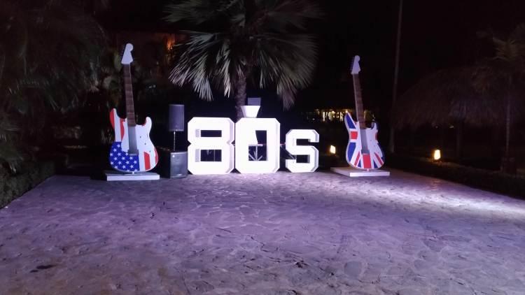 Festa temática - anos 80
