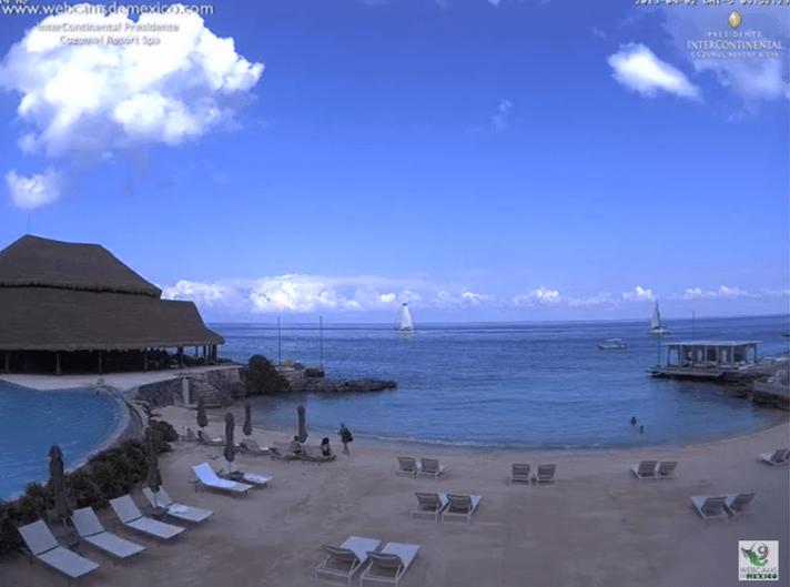 webcam cancun intercontinental