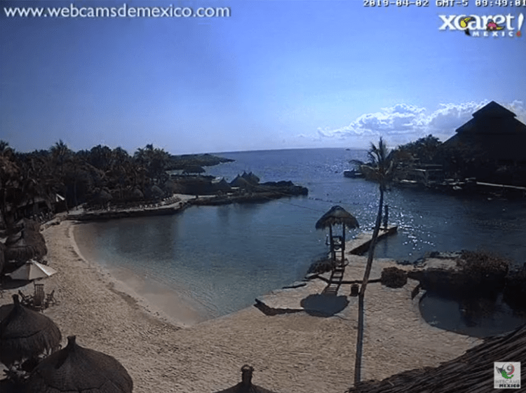 webcam cancun xcaret