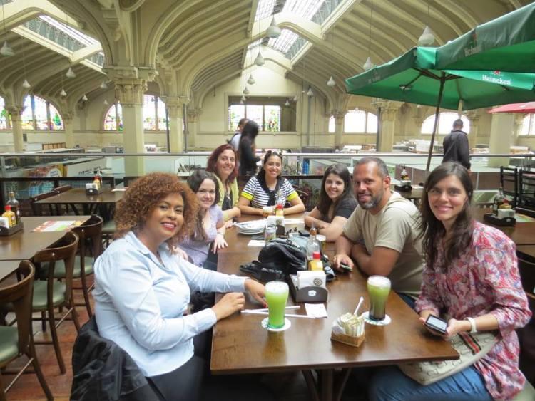 Encontro de blogueiros brasileiros no Mercadão!