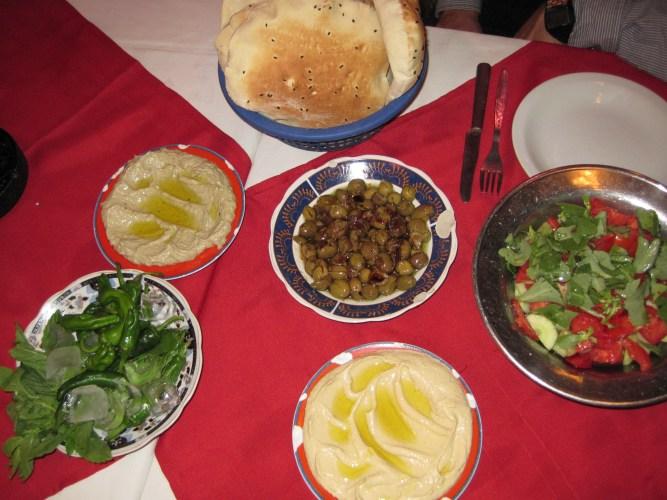 a comida libanesa é saudável e deliciosa