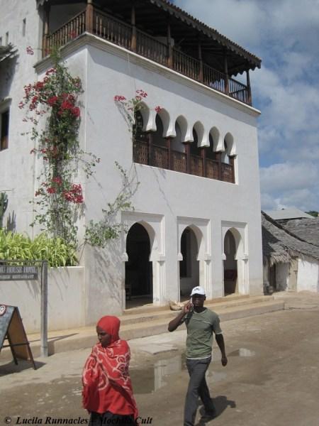 Fachada do Lamu House Hotel