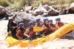 Pura adrenalina, rafting em Mendoza