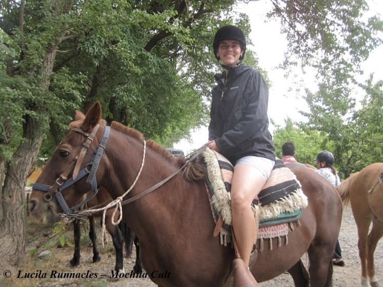 Amo andar a cavalo!!