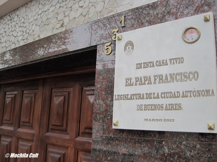 Casa que o papa Francisco morou quando era criança