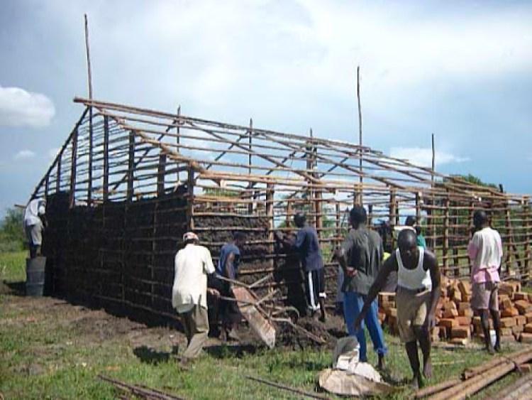 Construção do orfanato no Quênia
