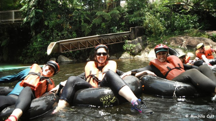 boia cross Rio Nhundiaquara Morretes