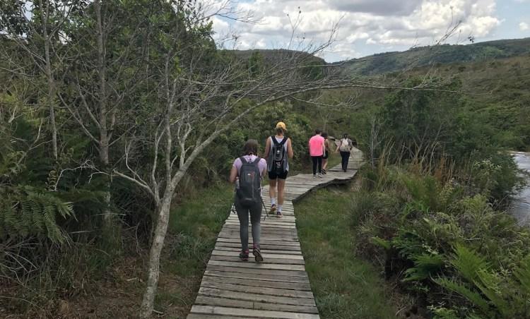 Cânion Guartelá trilhas