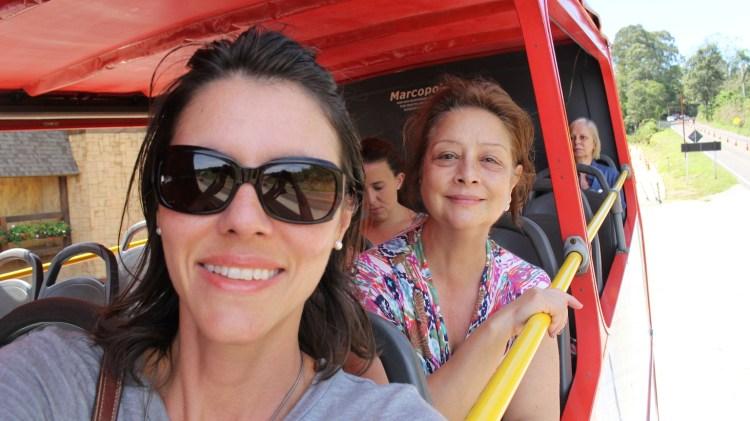 Eu e mamis passeando em Gramado