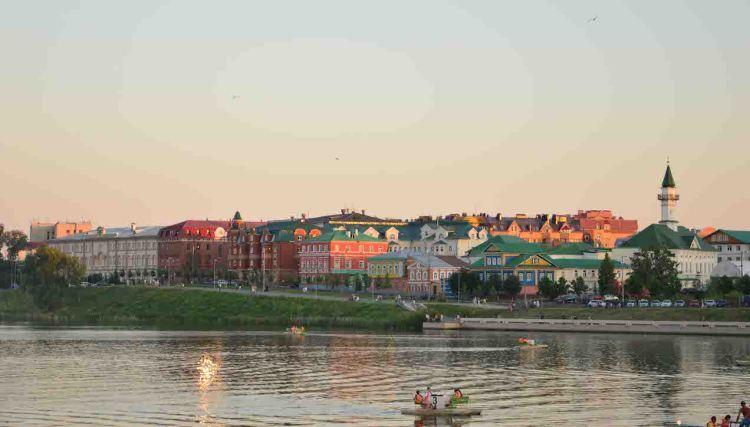 Kazan no verão