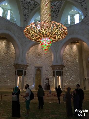 Mesquita Abu Dhabi Sheikh Zayed