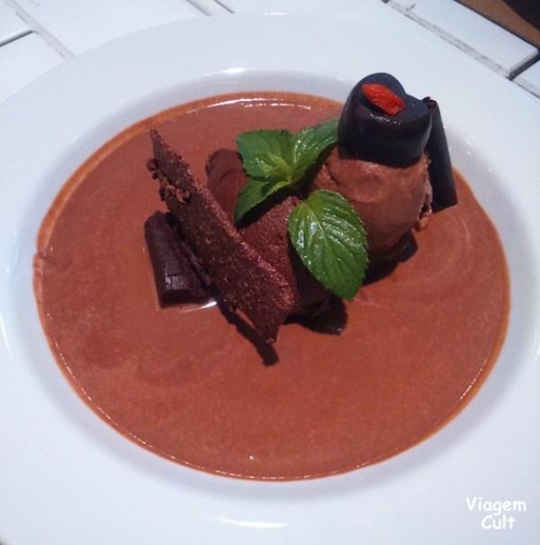 Chocolate ao cubo