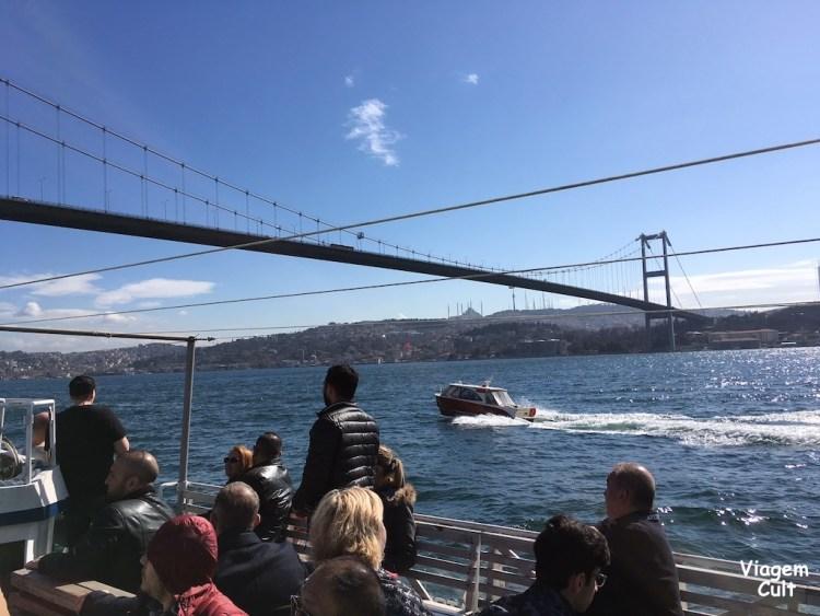 cruzeiro istambul bosforo