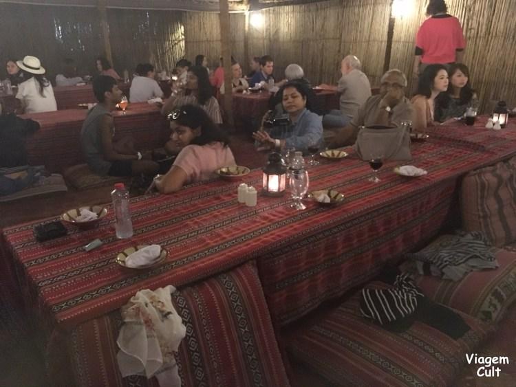 deserto Dubai jantar