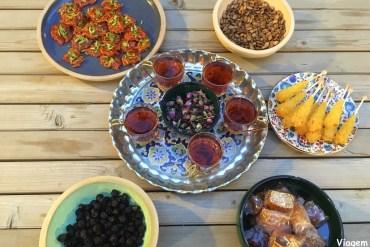 Cozinhando comida persa no Irã