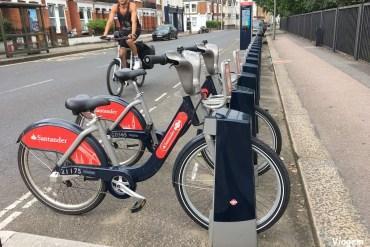 Alugando bicicleta em Londres