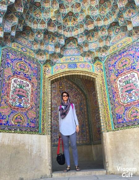 pink mosque - irã - lucila