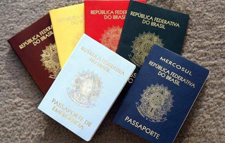 passaportes-brasileiros
