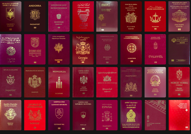 passaportes-vermelhos