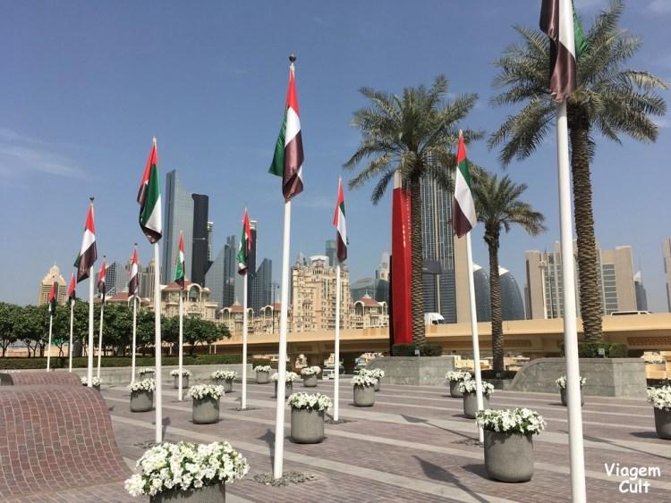 Entrada do Dubai Mall