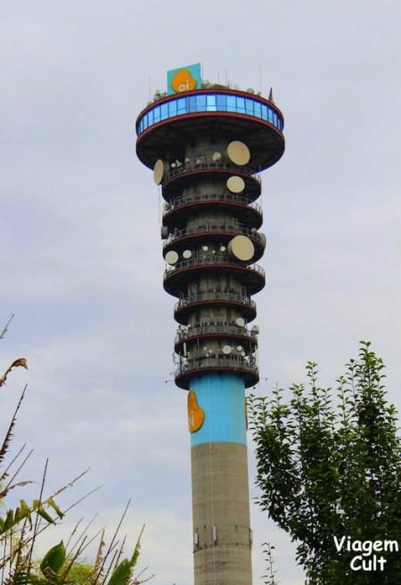 Ponto turistico de Curitiba - torre panoramica